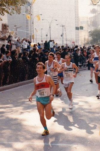 Welfen-Runner - New-York-Marathon 1987 - Franz Pfanner
